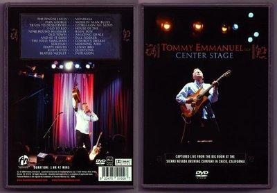 Tommy Emmanuel - Center Stage 2008 CGP現場演奏會 (DVD)@XI31227