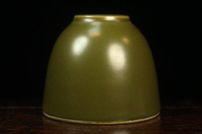 悅年堂 --- 大明萬曆年製款 茶葉末釉 水盂 水丞