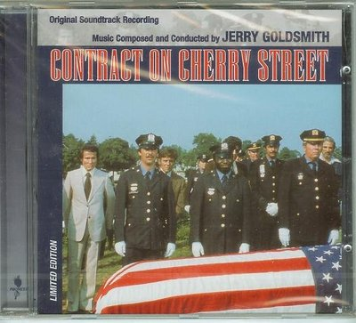 """Contract on Cherry Street""- Jerry Goldsmith(151),全新美版"