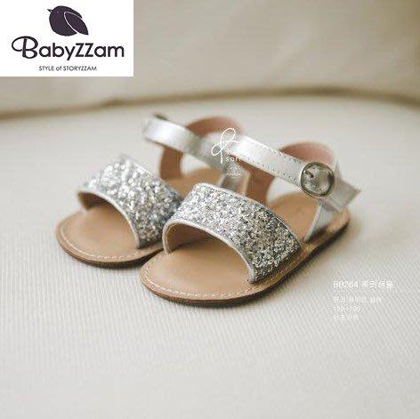 『※妳好,可愛※』韓國童鞋 Babyzzam 正韓 時尚簡約勃肯涼鞋 魔鬼氈涼鞋 女童涼鞋 涼鞋 韓國涼鞋