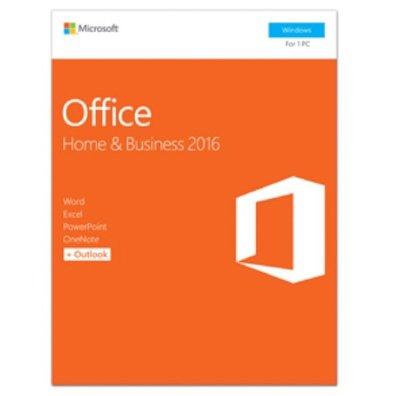 5套含稅價 Microsoft 微軟Office Home & Business 2016 盒裝版 現貨