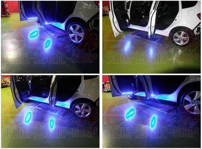 台克之光-HONDA-FIT2-LED開門照地燈 / 獨立線路 /保護線組