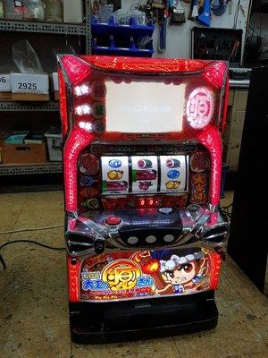 日本原裝機台SLOT 斯洛2013大力工頭~源祭篇漫畫經典收藏大型電玩 插電就可玩非柏青哥小鋼珠.打造自己遊戲空間收藏品