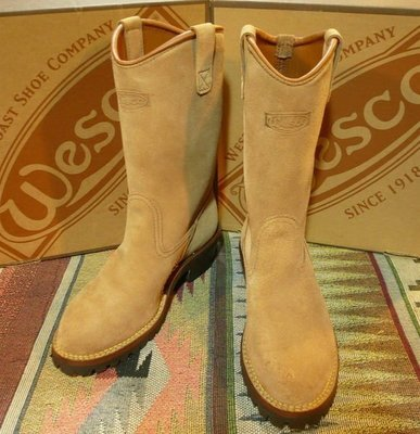 Wesco western boss 手工靴 機車靴 工程師靴 engineer boots red wing 8268