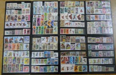 馬郵票專題261枚(均不同)