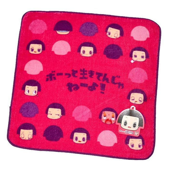 NHK智子醬 チコちゃん 小毛巾 日本BANDAI正版 100%綿