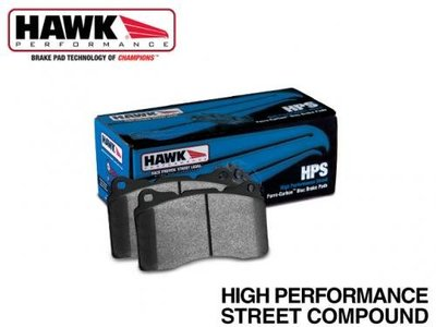 《大台北》億成汽車底盤精品改裝- HAWK 來令片(前) MITSUBISHI LANCER FORTIS 2008-