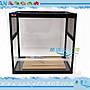 【~魚店亂亂賣~】台灣HIROTA玻璃爬蟲箱RP450-B2(雙側窗)45*30*45cm兩棲.寵物缸(可滑動式玻璃門)