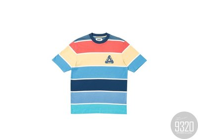 [9320]Palace Wide On T-Shirt Blue