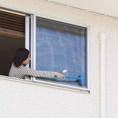 =NICOLE&MITSUHA= 日本進口 打掃幫手 可折疊 紗窗除塵刷 預購商品