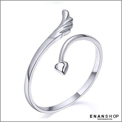惡南宅急店【0365C】天使心 開口戒指可微調 韓國創意打版 造型戒指