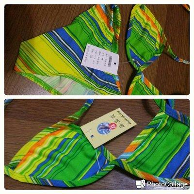 5歲以下穿三件式泳衣新(櫃箱袋)下標告知藍或黃綠沒件250含郵