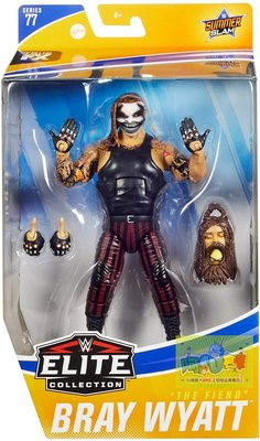 ☆阿Su倉庫☆WWE Bray Wyatt The Fiend Elite 77 Figure 詭異家族面具款人偶公仔