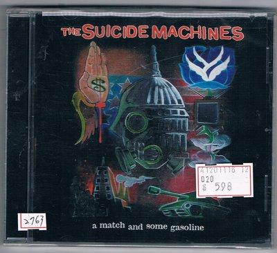 [鑫隆音樂]西洋CD-The Suicide Machines:A Match And Some Gasoline/全新