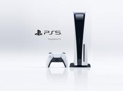 PS5 主機 SONY 標準版 光碟機版 (二手商品) 主機 CFI-1018A 白色 台灣公司貨【台中大眾電玩】北屯
