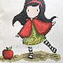 紅柿子【英文彩色版• Cross Stitching 十字繡作品集 Issue 206】特售50元‧