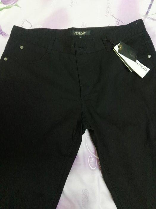 黑色休閒褲