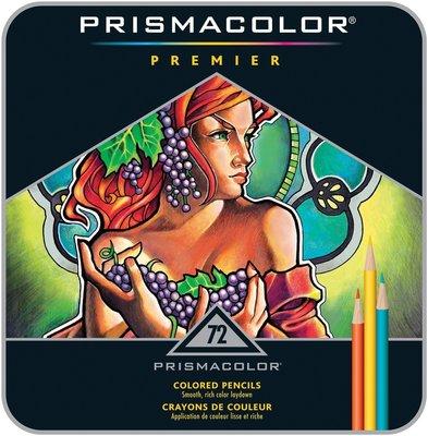 【品 · 創藝】精品美術-美國PRISMACOLOR Premier系列頂級油性色鉛筆-72色