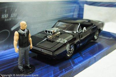 【特價現貨】玩命關頭第一集 1:24 Jada Dodge Charger R/T 1970 唐老大人車組