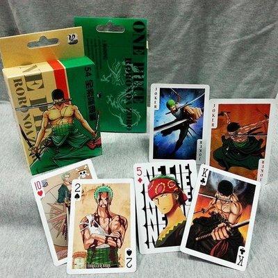 海賊王 索隆 全新典藏紙牌 動漫 電玩 桌遊 撲克牌 典藏紙牌 動漫 電玩 桌遊 撲克牌 收藏 高清晰 54張不相同