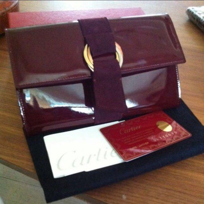 Cartier長皮夾 卡迪亞環圈長皮夾真品 正品