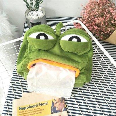 Pepe 悲傷蛙紙巾套 $45