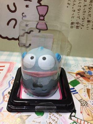 Sanrio 水怪 Hangyodon 和菓子公仔 軟淋淋公仔 發洩公仔細