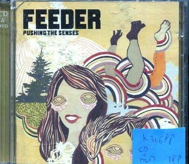 *真音樂* FEEDER / PUSHING THE SENSES CD+DVD 二手 K30698