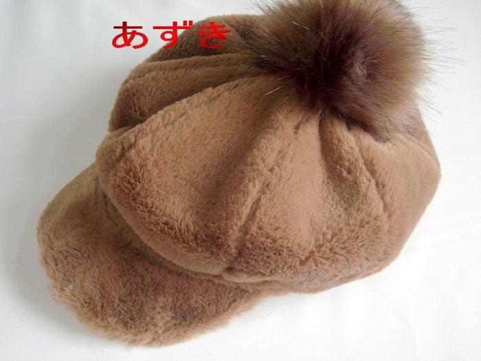 毛絨絨貝雷帽系列-棕色-現貨 特價399