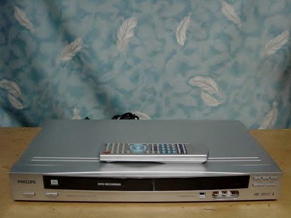 Y保固12個月【小劉家電】 PHILIPS  DVD錄放影機,DVDR612型