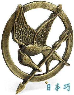 NECA 飢餓遊戲一二三代Part I Part II一組1100元 學舌鳥 胸針 徽章The Hunger Games