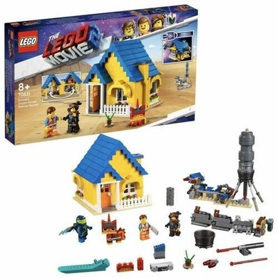 LEGO 樂高 70831 樂高玩電影2系列 Emmet's Dream House/Rescue 全新未拆
