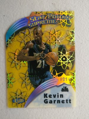 1997-98 Ultra Star Power Supreme #SPS8 Kevin Garnett