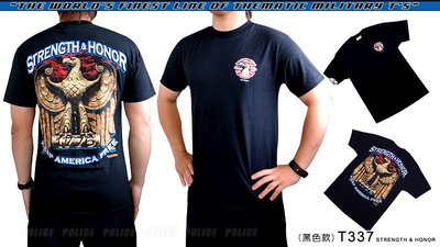 【ARMYGO】美國 7.62 軍事T恤 - 其他系列 -'STRENGTH & HONOR'
