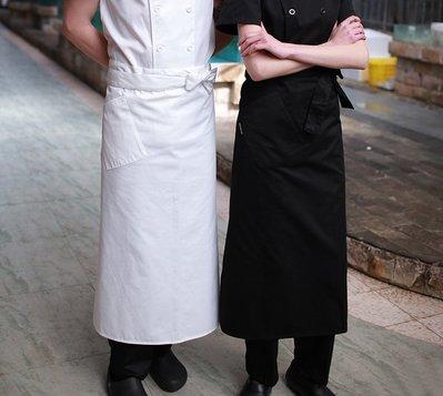 依尚依酷—[2色]半身長款圍裙 廚師工作圍裙 男女通用餐飲/西餐廳工作圍裙【YK043】