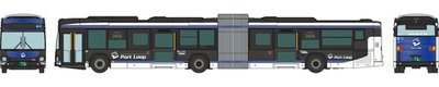 [玩具共和國] 4543736316541 神姫バス Port Loop 連節バス