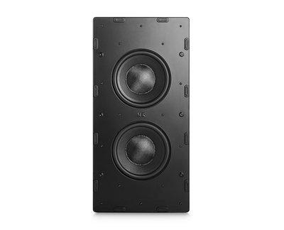 竹北專業推薦音響店《名展影音》丹麥M&K SOUND IW28S 嵌入式壁掛超低音喇叭 /支