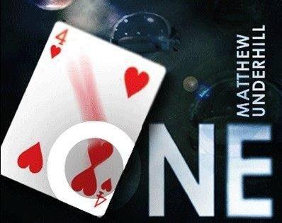 【意凡魔術小舖】ONE--你是唯一(天生一對)LOVE撲克牌魔術情人節魔術One by Matthew Underhil