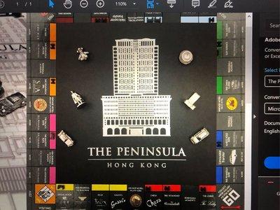 香港半島酒店限定版大富翁The peninsula Hong Kong Monopoly