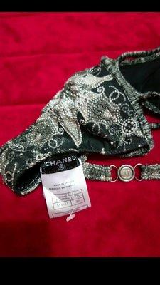 全新Chanel限量珍藏版手工刺繡小可愛 ~ 華麗 性感小可愛 or 內衣外穿(外搭小外套)。法國購回,超值低價出清