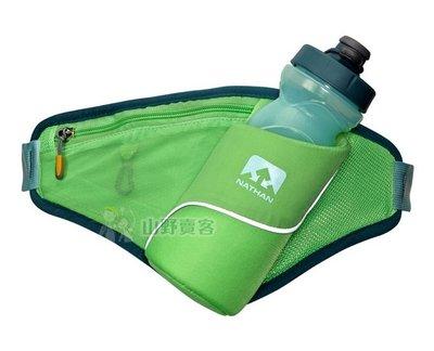 【山野賣客】NATHAN Triangle水壺腰包(綠) 跑步腰包 運動腰包 NA4882NAT