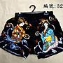 短褲台灣製紅螞蟻平口褲100% 絲光棉-編號 3206、3207