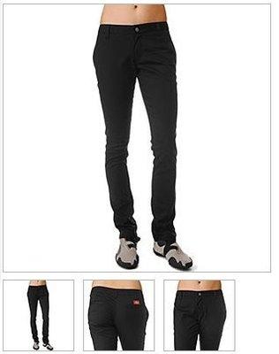 阿弘的賣場 Dickies Girl HH874SK Original Stretch Lowrider Skinny 工作褲 黑色 BK