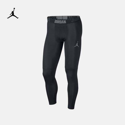KK運動潮鞋NIKE#Air#Jordan男款運動跑步訓練透氣緊身彈力打底褲892258-010