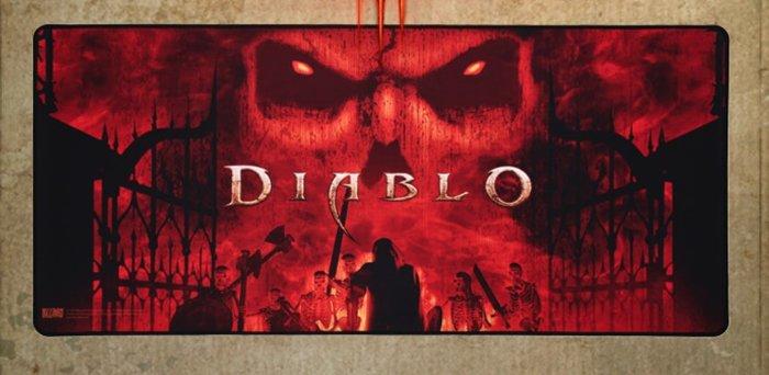 【丹】TB_Diablo 暗黑破壞神3 迪亞布羅 阿茲莫丹 萬惡之源 滑鼠墊 單一價