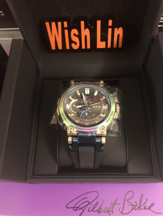 台灣公司貨全新 G-SHOCK MTG-B1000RB-2A 20週年 特殊盒