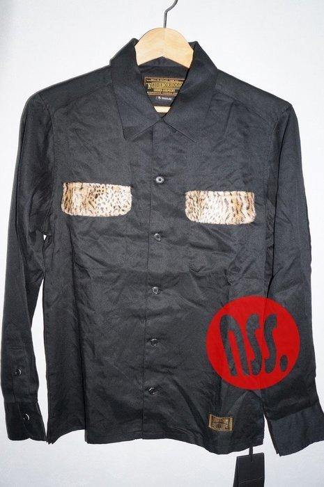 「NSS』NEIGHBORHOOD TEDDY.LEO / R-SHIRT L.S 豹紋 長袖襯衫 S