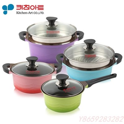 〖洋碼頭〗韓國進口Kitchen-Art科特廚房鍋具陶瓷不沾精緻電磁兩用湯鍋燉鍋 A6016