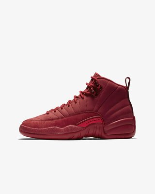 "沃皮斯§Air Jordan 12 GS ""Gym Red"" 女段 153265-601"
