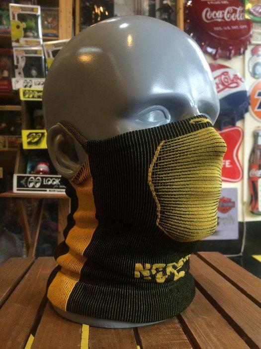 (I LOVE樂多)Naroo Mask黃色長版X5騎行運動 面罩 單車 哈雷 越野 滑胎 偉士 VESPA Cafe
